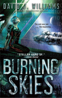 David J. Williams' Burning Skies