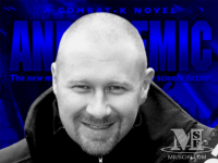 Andy Remic, author of the Combat K novel, Hardcore